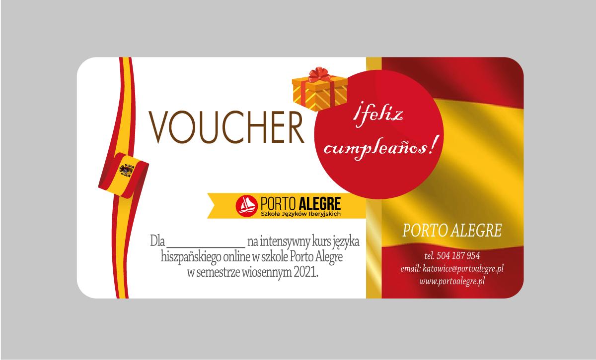 voucher - hiszpański, portugalski, włoski, polish for foreigners